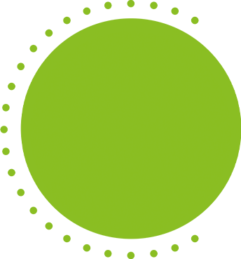 Green Filled Circle on Hover