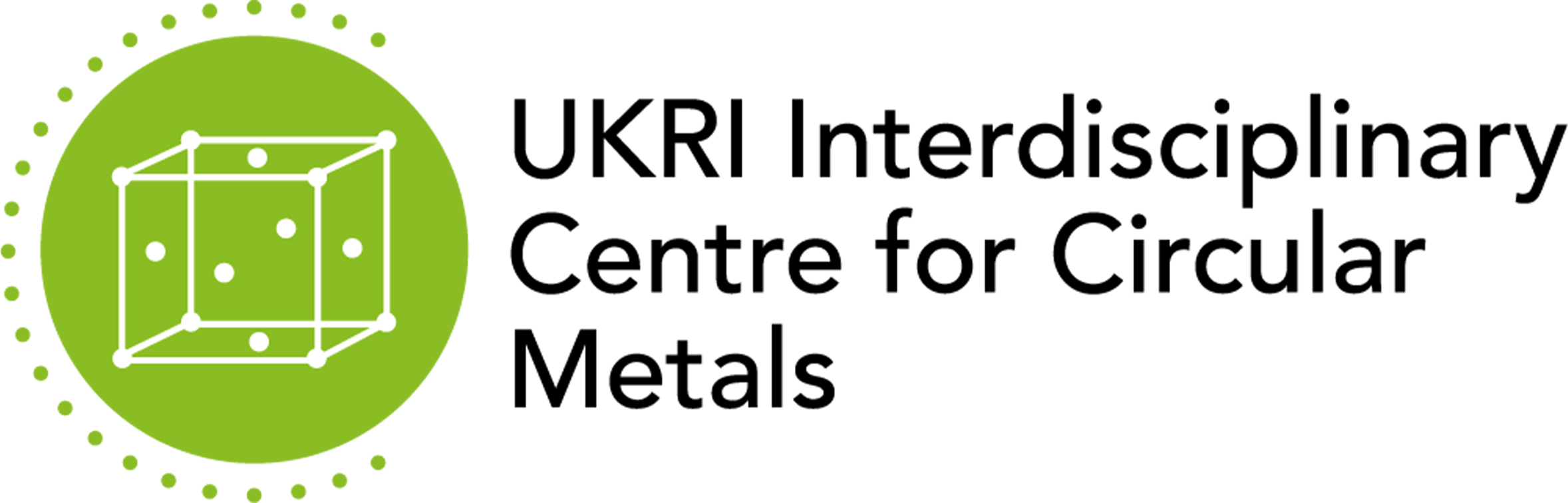 UKRI Interdisciplinary Centre for Circular Metal Logo