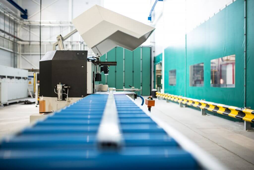Inside Metal-Working Facility